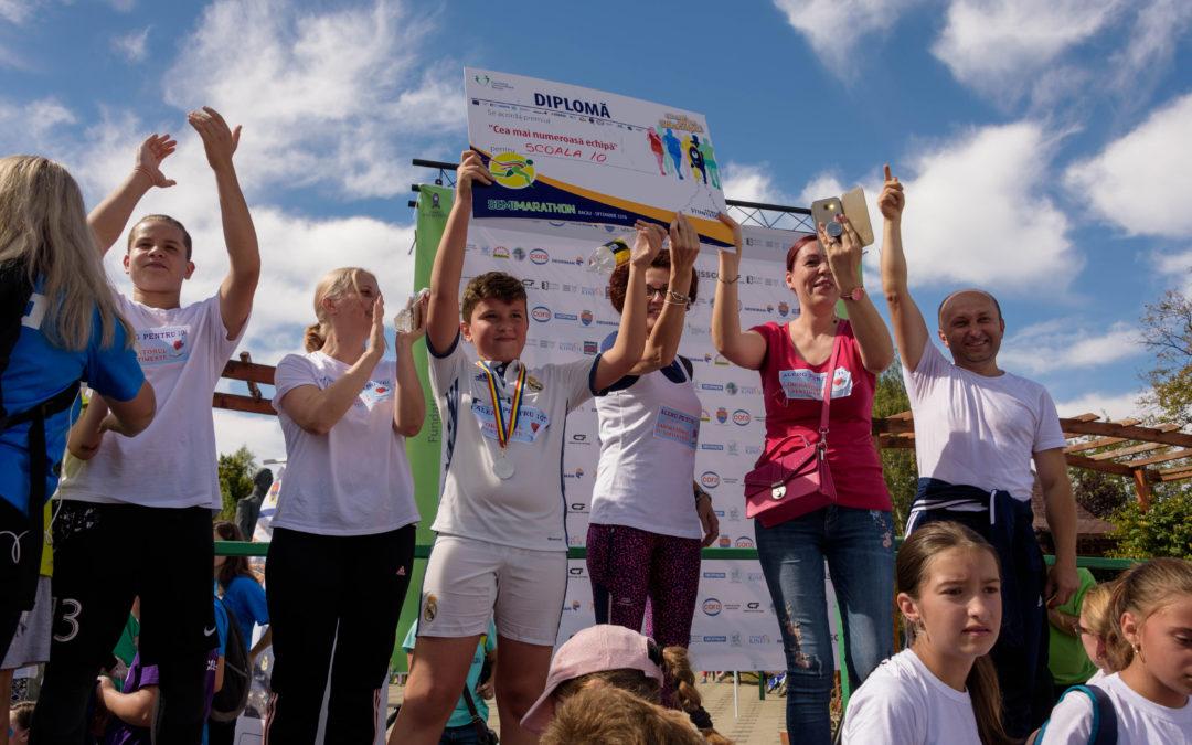 Semimarathon Bacău- eroii aleargă pentru educație!